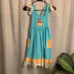 Ruffle Girl Sundress